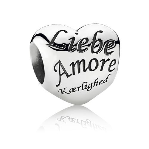 Abalorio Pandora Corazón Love