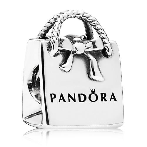 Abalorio Pandora Bolsa Pandora con lazo