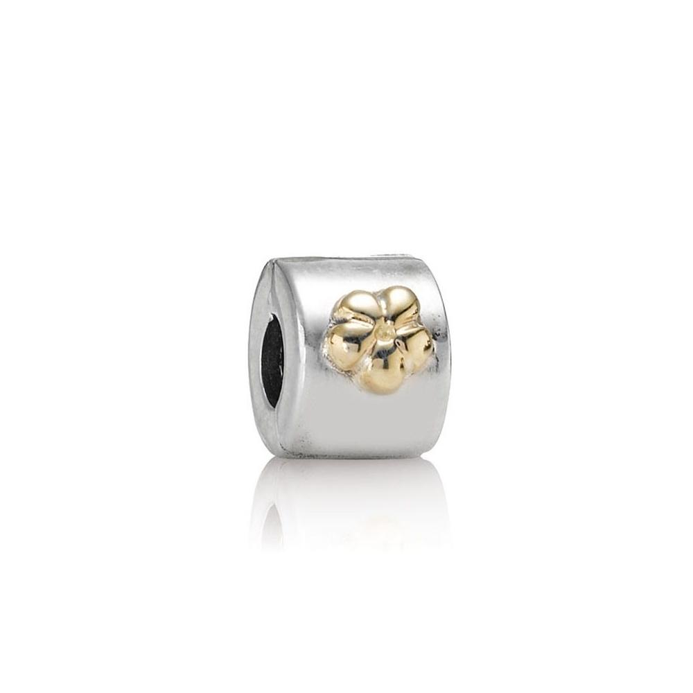Abalorio Pandora Des oro y plata 790140