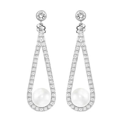 Pendientes Enlace White Pearl