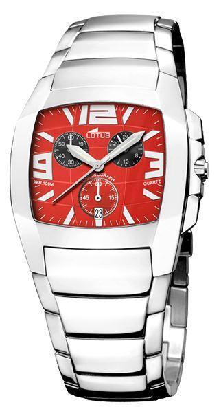 Reloj LOTUS Shine rojo