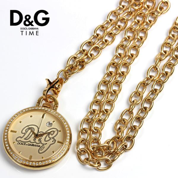 Reloj D&G de bolsillo con cadena