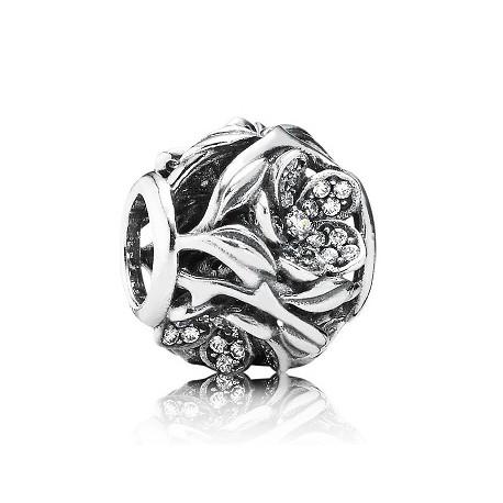 Charm Pandora flor mistica