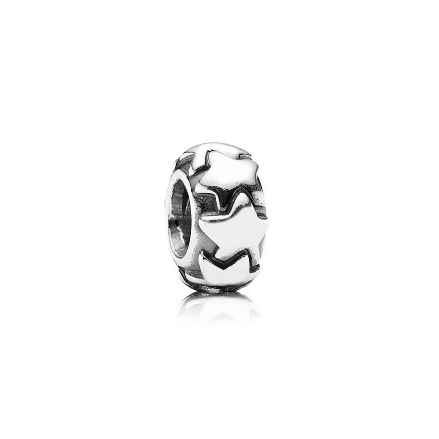 2071bd923691 Comprar Separador Pandora estrellas de plata en Joyeria Cuevas Amoros