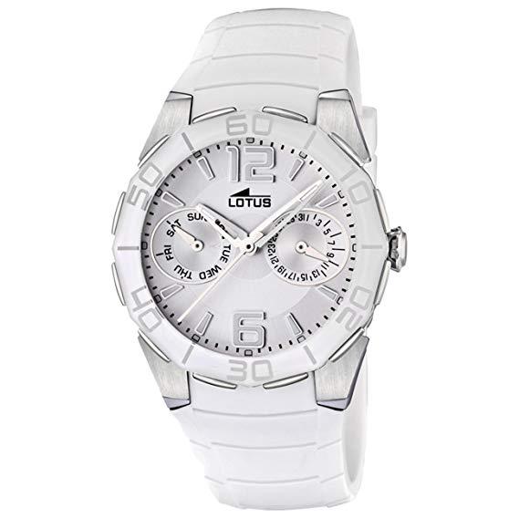Reloj Lotus señora blanco