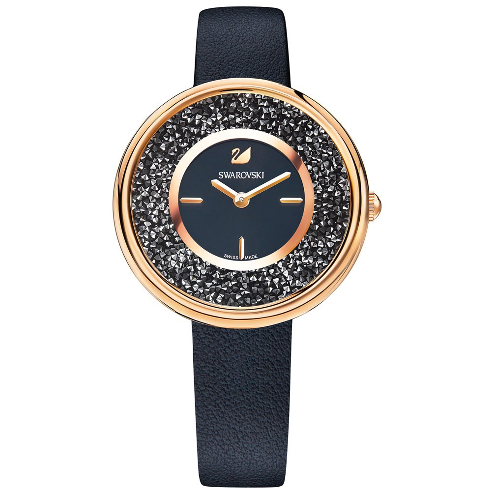 Reloj Swarovski Pure Piel Negra