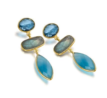 Pendientes Colorful Blue