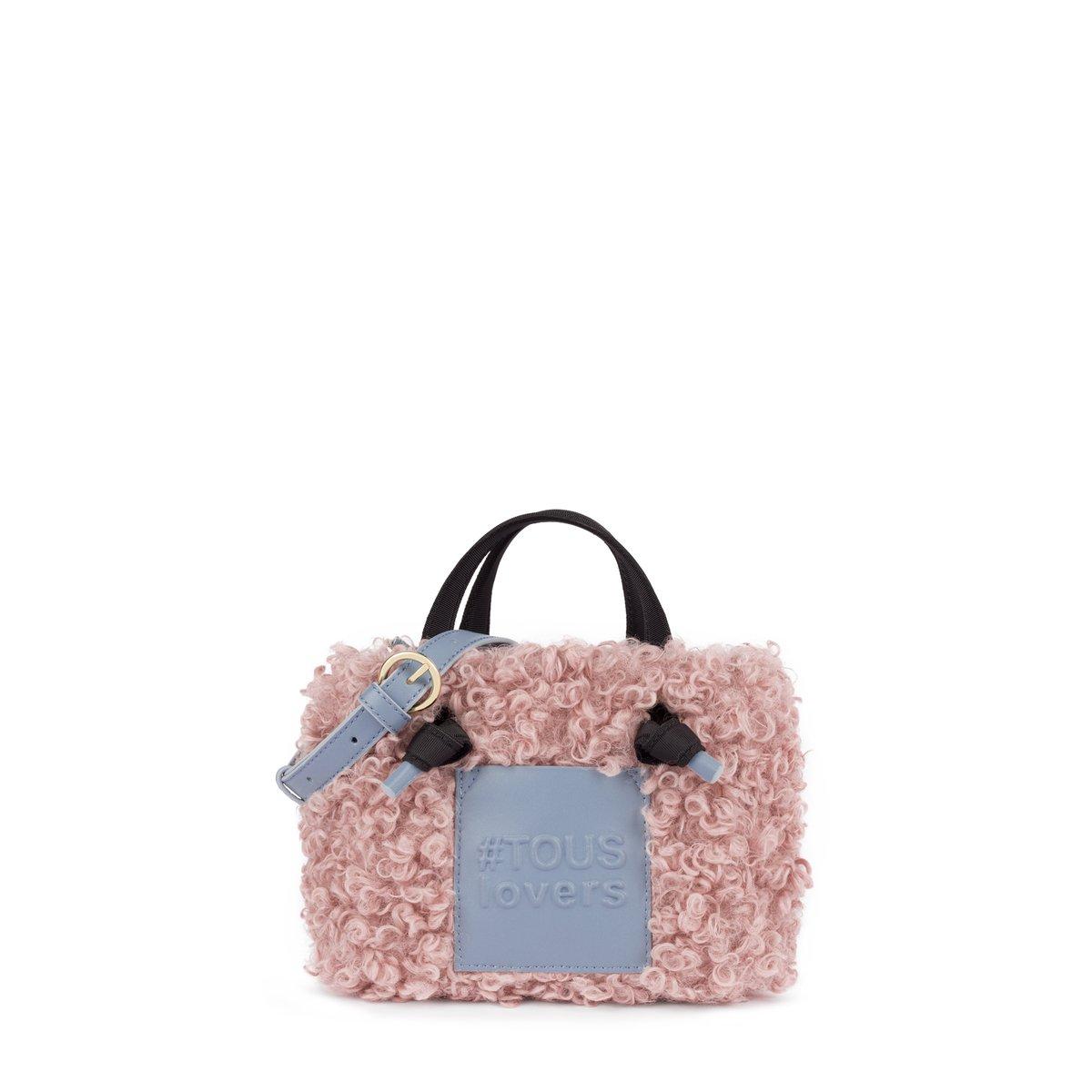 Shopping pequeño Amaya Warm rosa