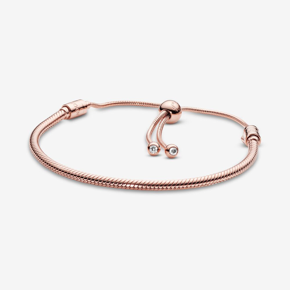 pulsera ajustable móvil rose