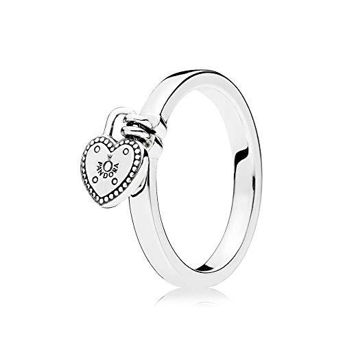 anillo con corazón