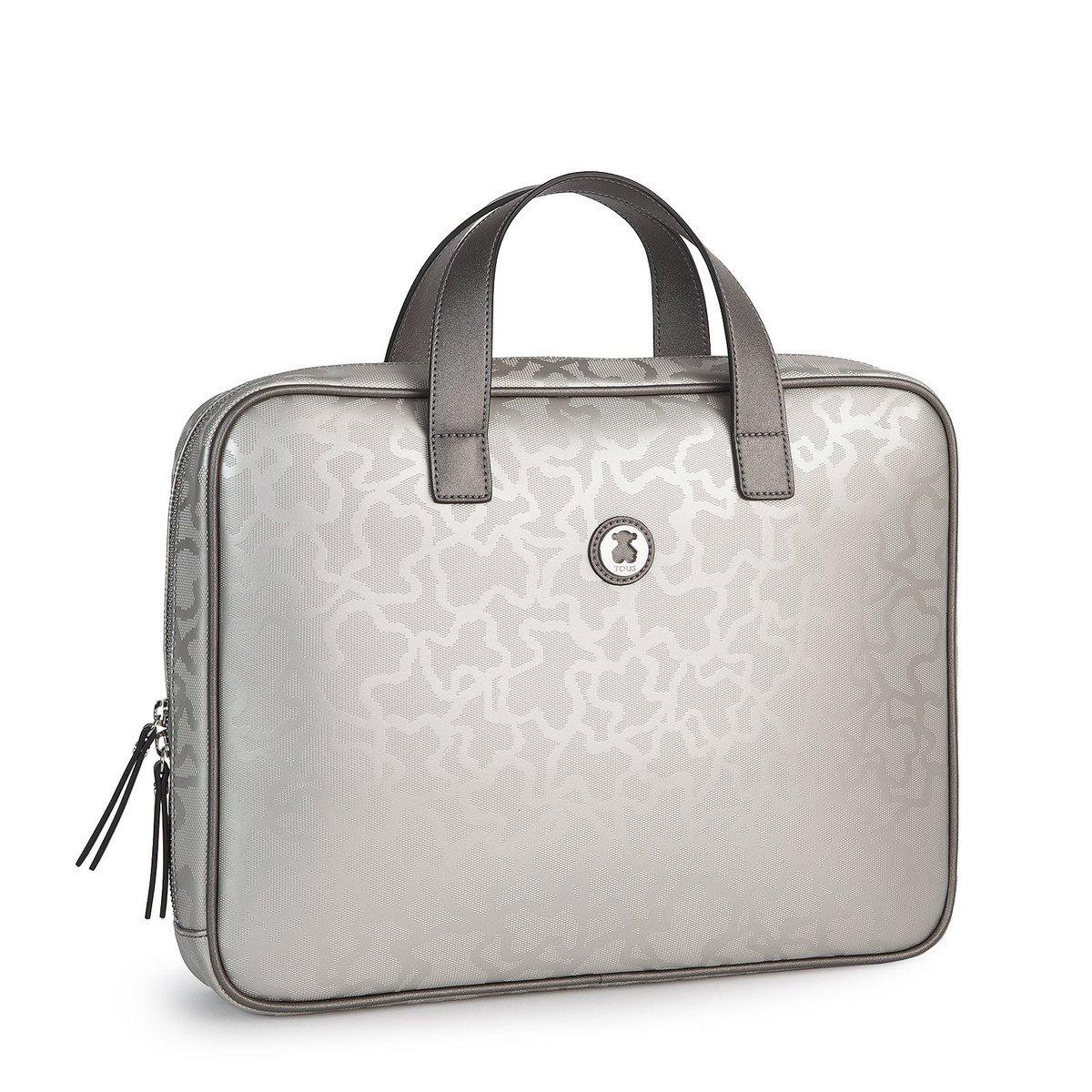 Maletín Kaos Shiny en color plata