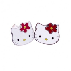 PENDIENTES HELLO KITTY