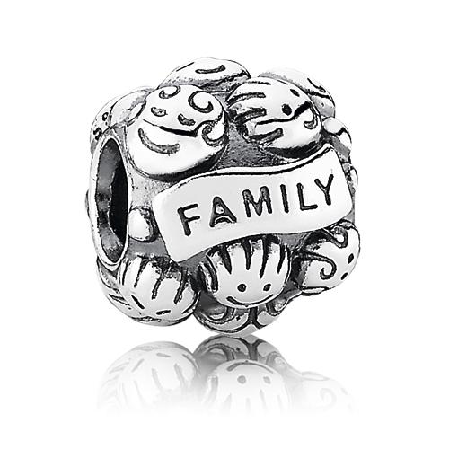 Abalorio Pandora I love my family