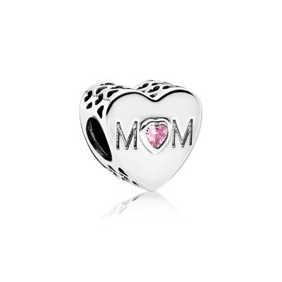 Abalorio Pandora corazón mamá imagen 1