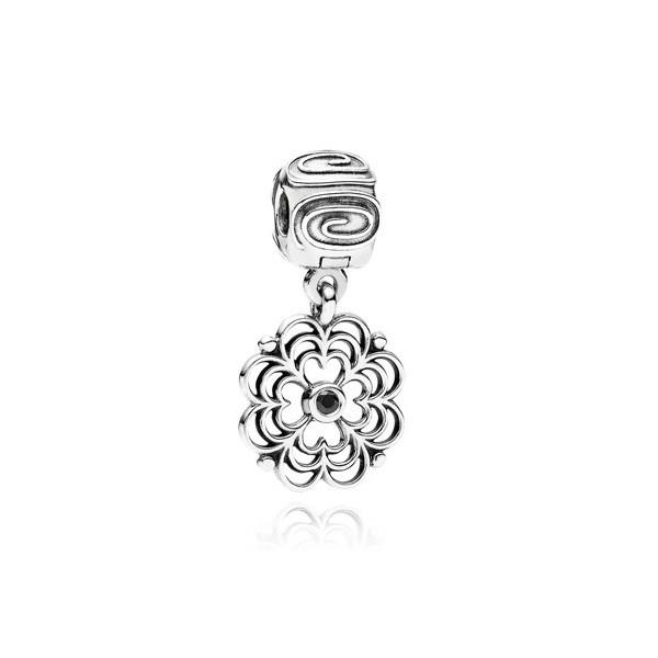 Abalorio Pandora Des flor colgante