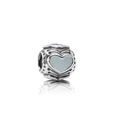 Charm Pandora corazón azul