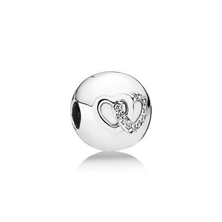 Clip Pandora corazones enlazados