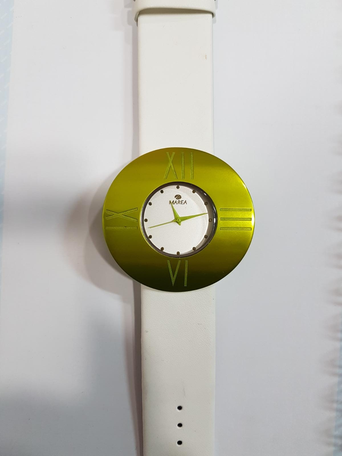 Reloj Marea bisel verde