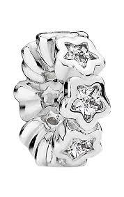 Charm separador Brillo Estelar en plata de primera ley