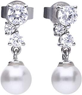 Pendientes Diamonfire Pearls
