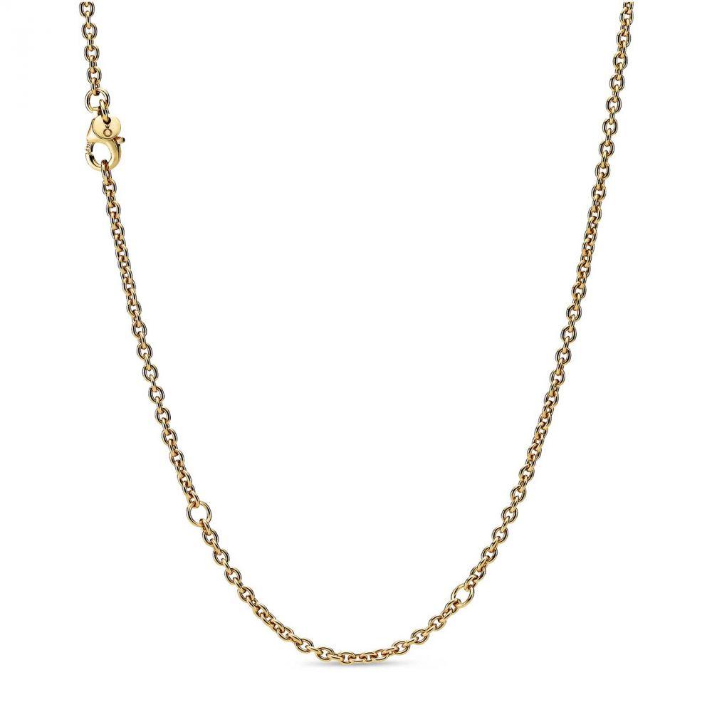cadena pandora dorada imagen 1