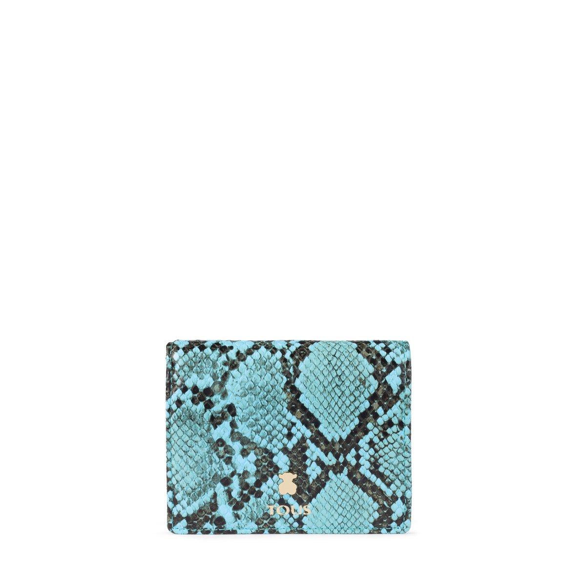 Billetera pequeña Dorp Wild azul