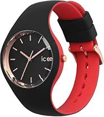 Reloj Ice IC07236 color duo negro y rojo