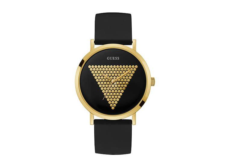 Reloj GUESS gents imprints negro y dorado W1161G1 imagen 1