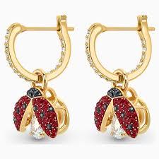 Pendientes Swarovski Sparkling Dance Ladybug 5537490