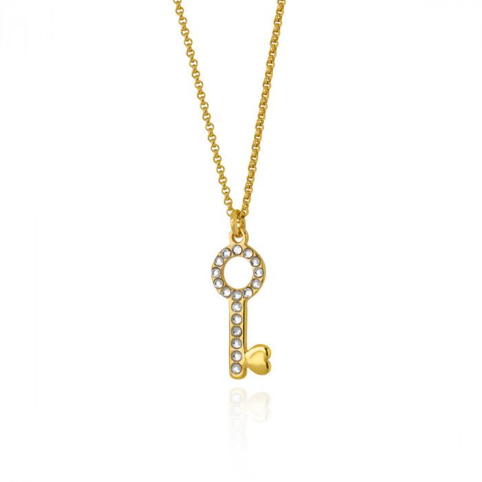 Collar Victoria Cruz San Valentín Crystal A3740-07DG