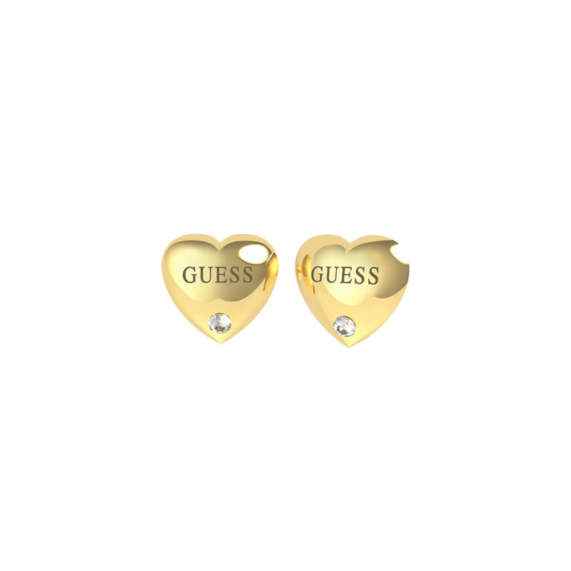 Pendientes GUESS BOLD HEARTS STUDS