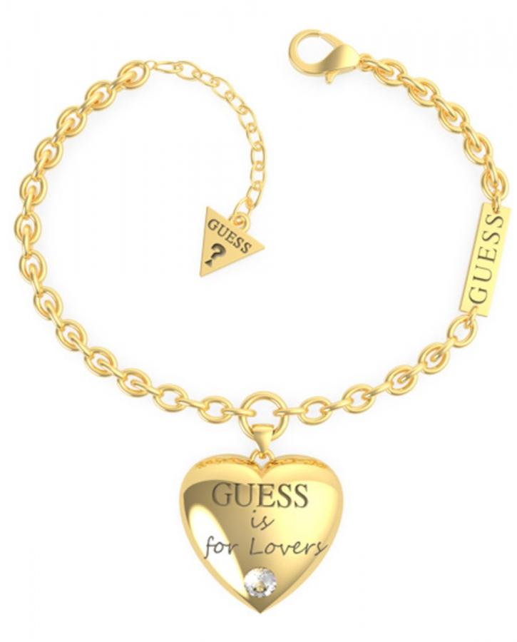 Pulsera Bold Heart Chain Yg imagen 1