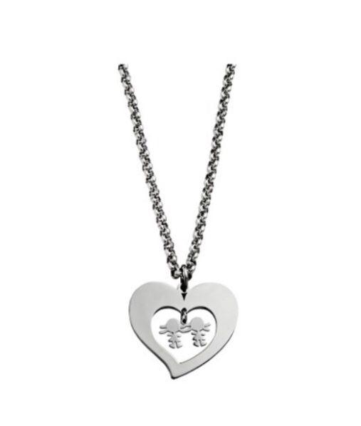 Collar Corazón Niñas 7HSS010636D