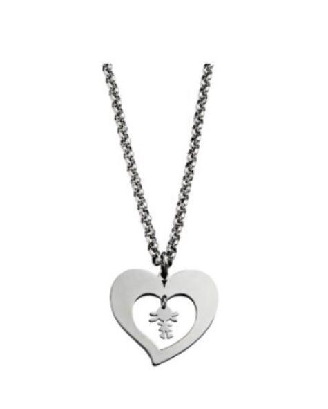 Collar Corazón Niña 7HSS010636A