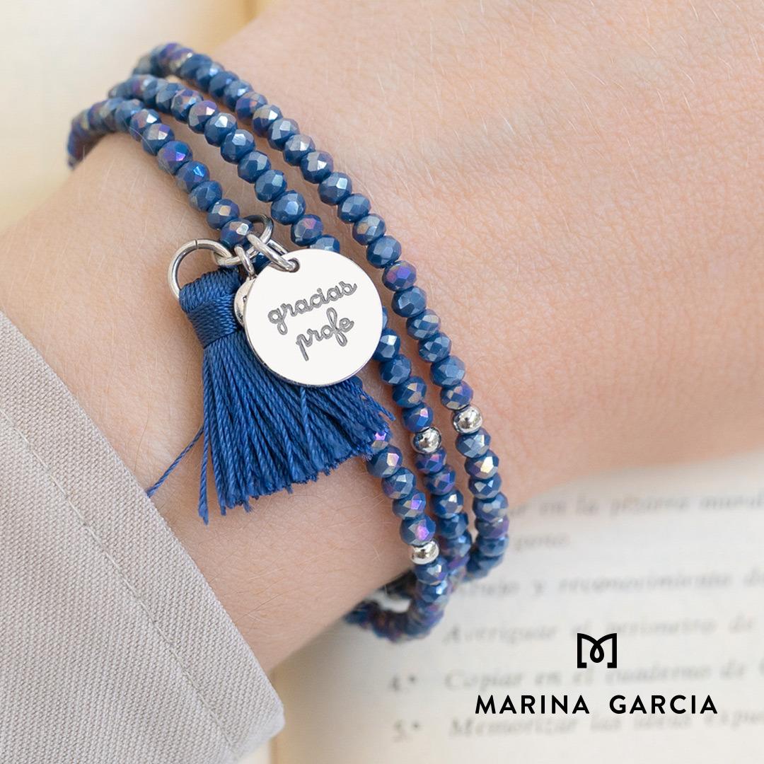 Pulsera Marina García azul