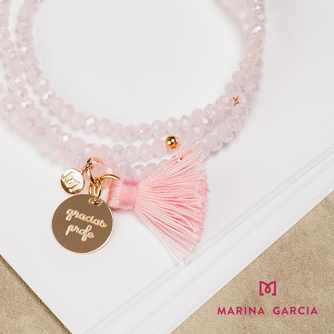 Pulsera Marina García rosa