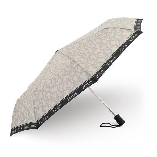 Paraguas plegable Kaos New en color piedra