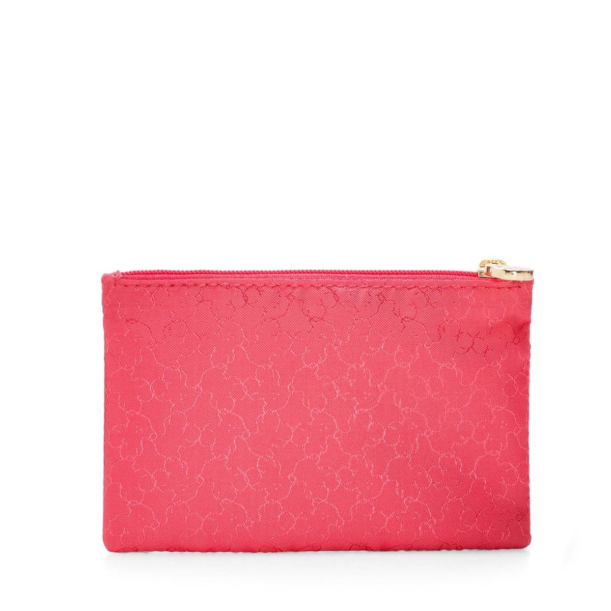 Neceser pequeño Clasica de Nylon en color rojo
