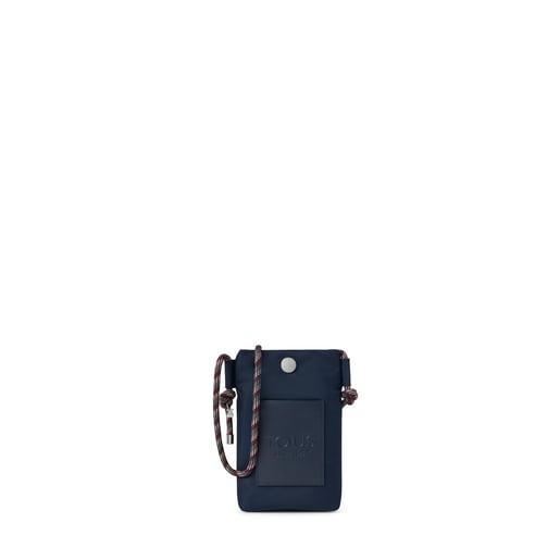Minibolso colgante Empire Soft Chain azul marino