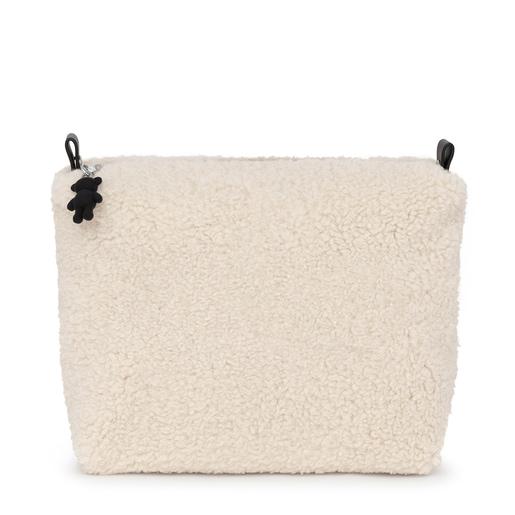 Bolsa grande Amaya Kaos Shock Warm beige